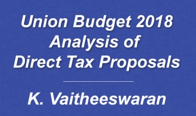 Union Budget 2018 - Analysis of Direct Tax Proposals